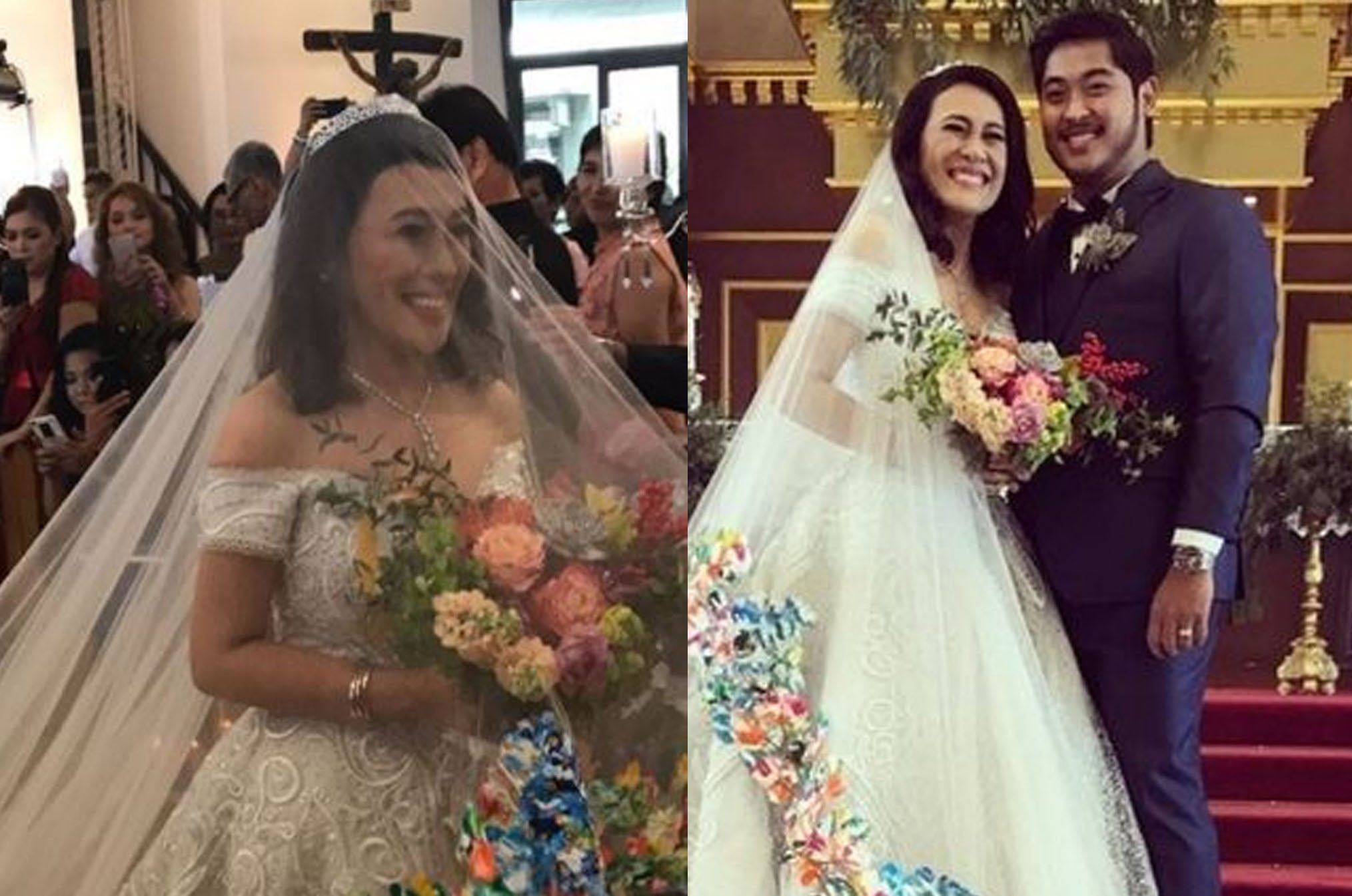 Ai Ai Delas Alas Looked Stunning In Her Wedding Gown